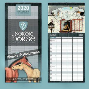 Nordic Familie kalender 2020